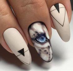 ideas for nails design unique almond – Nails Gel Nails, Acrylic Nails, Nail Polish, Nail Swag, Dragon Nails, Nail Drawing, Animal Nail Art, Almond Nails Designs, Beautiful Nail Designs