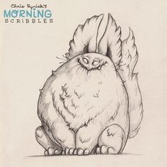 Blissfully unaware.  #morningscribbles