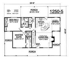 2 Bedroom House Plans Under 1000 Sq FT | doma | Pinterest ...
