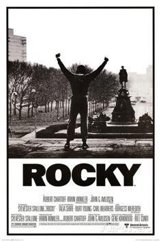 Rocky - Brazos levantados, póster de la película Láminas en AllPosters.es