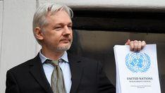 """""""La página no existe"""", señala un mensaje automático de la red social al tratar de acceder a la cuenta del fundador de Wikileaks."""