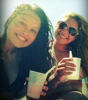 My beautiful cousin Kenz and her BFF Tayla *Enjoying Summer*