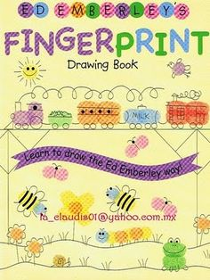 Fingerprint art ideas... how to use your kids fingerprint to make animals, pirates, trains, flowers. Step by step how to.