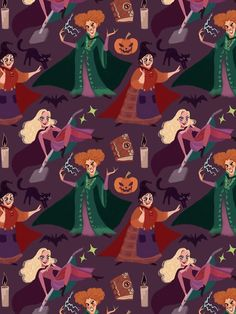The Witch is Back! It's october finally! I've been wanting to make another pattern forever, and what better excuse than the best halloween movie? Halloween Wallpaper Iphone, Witch Wallpaper, Halloween Backgrounds, Disney Wallpaper, Disney Halloween, Spooky Halloween, Halloween Themes, Cute Wallpapers, Wallpaper Backgrounds