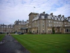 The Gleneagles Hotels, Scotland: The grand external View