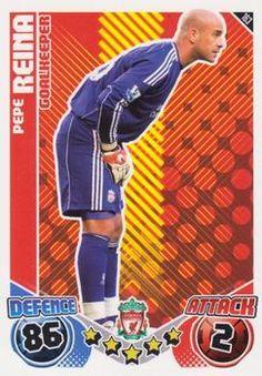 2010-11 Topps Premier League Match Attax #163 Jose Reina Front