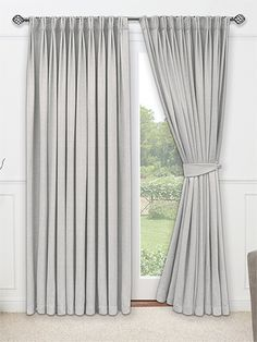 lynton dove grey plain pencil pleat ready made curtains curtain menzilperde net. Black Bedroom Furniture Sets. Home Design Ideas