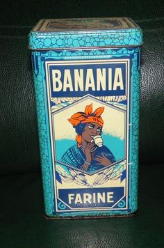 Vintage French powdered drink