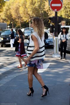 Mixed Prints #fashion #trends #summer