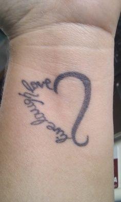 Live Laugh Love Tattoos.