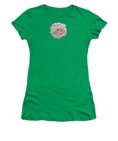 Rose Women's T-Shirt (Junior Cut) featuring the photograph It's Not Just Grey by Sverre Andreas Fekjan
