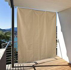 als sichtschutz eignen sich vorh nge sehr gut balkon in 2018 pinterest backyard patio und. Black Bedroom Furniture Sets. Home Design Ideas
