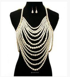 Faux Pearl Body Chain Jewelry-Jewelry-Look Love Lust, https://www.looklovelust.com/products/faux-pearl-body-chain-jewelry