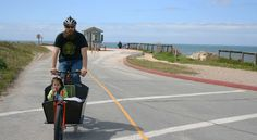 Metrofiets at Natural Bridges State Beach