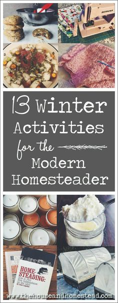 13 Winter Activities for the Modern Homesteader Homesteading is typically associated with fair-weather activities like farming, gardening and preserving the … Homestead Farm, Homestead Living, Homestead Survival, Survival Skills, Homestead Layout, Survival Tips, Modern Homesteading, Homesteading Blogs, Weather Activities
