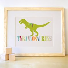T-Rex Print now featured on Fab.