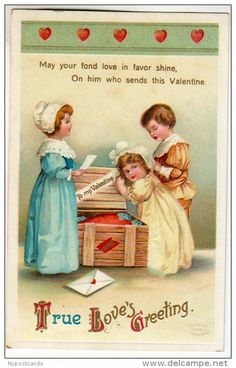Postcards > Topics > Holidays & Celebrations > Valentine's Day - Delcampe.net