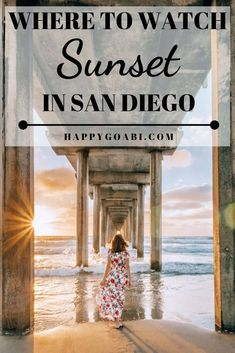 Wondering where to watch sunset in San Diego? These 7 spots are the best places to watch sunset in San Diego, and you'll want to watch sunset from them all! California Sunset, California Travel, Hotel Del Coronado, Hiking Spots, San Diego Beach, Local Photographers, Best Sunset, Pacific Beach, Amazing Sunsets