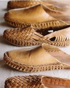18ca63ca9aa5 Mohinders Woven Leather Flats
