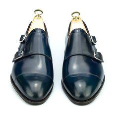 zapatos de doble hebilla de hombre - Carmina Shoemaker