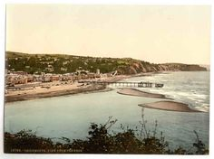 new to site Teignmouth, View from the Ness, England