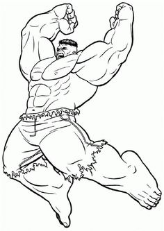 free printable hulk coloring pages  enjoy coloring