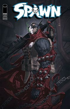SPAWN #272  STORY: TODD McFARLANE & FRIENDS ART: SZYMON KUDRANSKI COVER A: NIVANH CHANTHARA COVER B: TBA FEBRUARY 15 / 32 PAGES / FC / T / $2.99