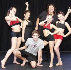 Payton, Gianna, Nick, Abby, Maddie, and Kendall of ALDC