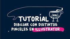 Tutorial utilizar diversos pinceles en Illustrator para ilustración-Andr...