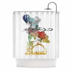 Found it at Wayfair - A Little Paradise by Frederic Levy-Hadida Shower Curtain