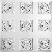 2' x 2' TIN CEILING PANEL NU TOPIA NAIL UP-MILL by M-BOSS INC.. $9.75