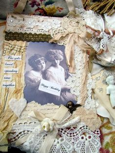 Suziqu's Threadworks: Vignette and Collages