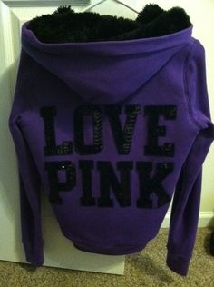 Ohhh nice for cooler weather Vs Pink Outfit, Pink Outfits, Cute Outfits, Victoria Secret Outfits, Victoria Secrets, Pink Nation, Everything Pink, Sweater Hoodie, Victoria's Secret Pink