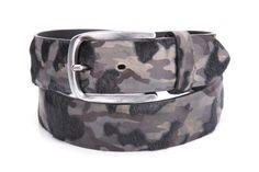 camouflage belt Ledergürtel Belt Leatherbelt