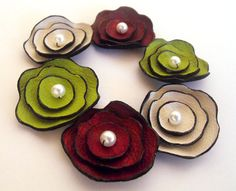 Leather Flowers