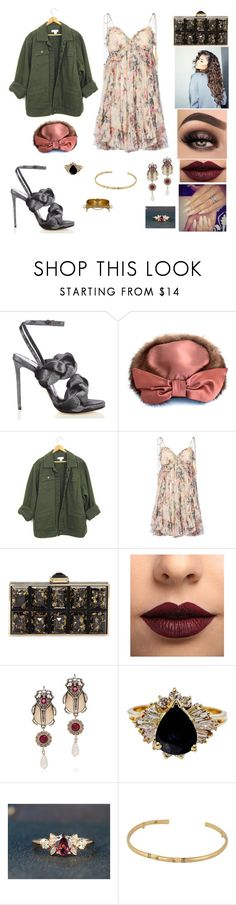 """""""&"""" by ohbabyimrachel ❤ liked on Polyvore featuring Marco de Vincenzo, Zimmermann, Judith Leiber, Coleman, LASplash, Alexander McQueen, House of Harlow 1960 and Chloé"""