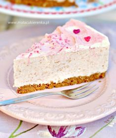 Śmietanowy Tort Rabarbarowy