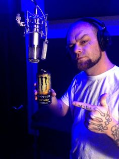 Ivan Moody takes a quick break from tracking vocals to Rehab the Beast!