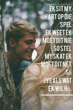 Jong liefde... Romantic Quotes, Love Quotes, Afrikaanse Quotes, Live Life, Love Him, Favorite Quotes, Qoutes, Poetry, Motivation