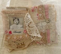 Little fabric book | Flickr - Photo Sharing!