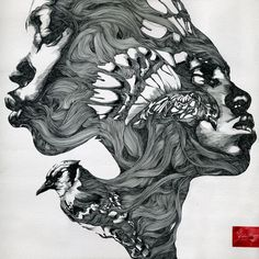 PROJECT/ SOLO EXHIBITION / MORE THAN ILLUSTRATION . 200 by Gabriel Moreno , via Behance