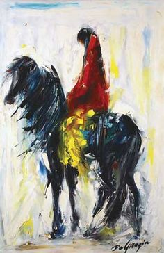 DeGrazia® - Wind from the East - Gallery Print  21 3/4 x 14. $23.95
