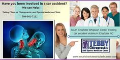South Charlotte Whiplash Center treating car accident victims in Charlotte NC at the Tebby Clinic Call 704-541-7111.