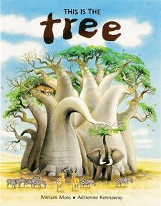 """Usborne Books & More. This is the Tree  """"What a lovely book! Both the language and the illustrations are exceptional. Since the baobab tree is basically unfamiliar to the most of us, the snippets of factual information are fascinating."""" - Children's Book Review Service """"This book is perfect for use by teachers or homeschoolers who are studying the habitat of the African savannah or about the animals of Africa."""" - The Thinking Mother"""