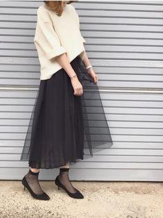 5af083fe71fc7 ukapi|Spick   Spanのスカートを使ったコーディネート