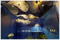 Showcase of MOS products at 2019 Design Johannesburg featuring Rooms on View. Featured products are: CLOUD lamps, RAIN FOREST cluster, FRENCH HAT statement lighting and the MOON LAMP table lamp. French Hat, Cloud Lamp, Lamp Table, Lamps, Rain, Chandelier, Rooms, Clouds, Ceiling Lights
