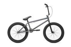 Kink Gap Gun Metal Grey Complete LHD BMX Bike 2017 – Bakerized Action Sports