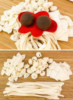 Pasta italiana de fieltro