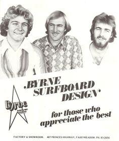 1970's Byrne Surfboards advertisement