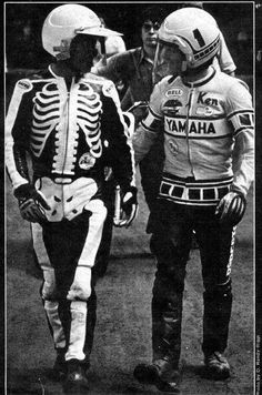 Dave Aldana and Kenny Roberts